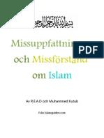 Missuppfattningar och Missförstånd om Islam