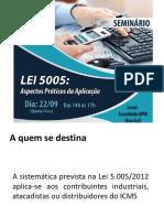 Apresentacao_Lei5005