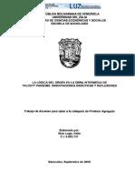 TA. Nello Ríos - La Lógica Del Orden en Talcott Parson