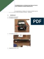 Metodos de Medicion de La Potencia Electrica Activa en Circuitos de Corriente Alterna Monofásicos