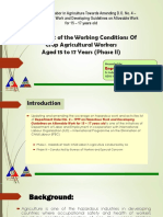 3b Assessment of Working Conditions of Crop Agricultural Workers Aged 15 to 17 Phase II