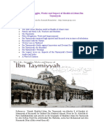 The Life of Ibn Tayymiyyah