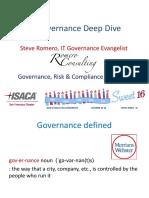 IT Governance Deep Div