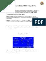Configuracion Basica CMOS Setup (BIOS)