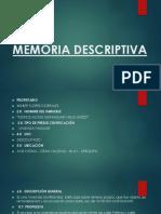 Memoria Descriptiva Expo