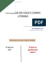 Patologia Do Colo e Corpo Uterino