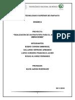 Vibraciones - Dinamica Reporte de investigación