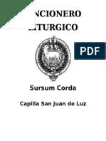Cancionero Sursum Corda. Doc