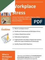 hsc 401 workplace stress group presentation