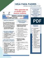 Informativo 3-2017 Resolucion de Conflictos