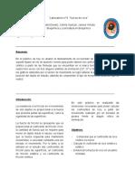 """Laboratorio n°4  """"fuerza de roce"""" (TERNERO)"""