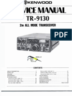 Kenwood TR-9130 Service Manual