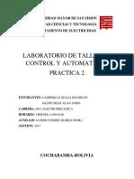 Laboratorio 2 Taller de Control