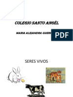 Santo Angél-seres Vivos