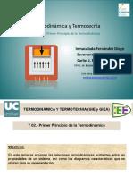 Termodinámica y Termotécnia Primer Principio de la Termodinámica.pdf