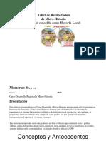 Manual Del Taller de Historia