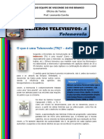 Gêneros Televisivos - A Telenovela