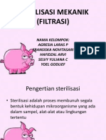 Sterilisasi Mekanik (Filtrasi)