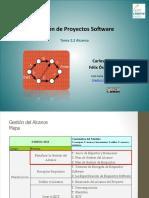 Gestión de Proyectos Software - Alcance