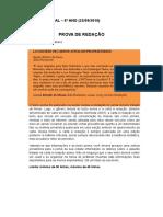 Prova de Redação - Retextualização de Carta à Redação Para Notícia (1)