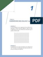 FISICAI 01 Exercicios Resolvidos