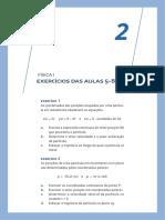FISICAI 02 Exercicios Resolvidos