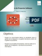 Gestión de Proyectos Software - Integración