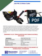 PRC-13 Pneumatic Rebar Cutter