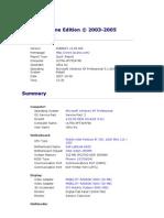 Report Dell D600