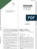 331441413 Kristeva Julia 1967 Bajtin La Palabra El Dialogo y La Novela 1 PDF