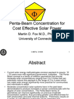 Penta-Beam Concentration for Cost Effective Solar Power021506-3