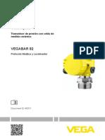 46311 ES VEGABAR 82 Protocolo Modbus y Levelmaster