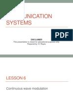 2130522_Lesson 06 - CW Modulation