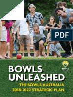 Bowls Australia Strategic Plan
