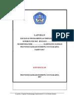 Contoh Laporan Kegiatan Penerima Bantuan Pemerintah