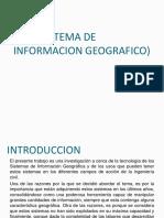 S.I.G Sistema de Informacion Geografica