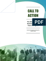 CALL to ACTION the 2016 Quezon Provincial Nutrition Situation, Facts and Figures