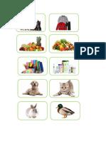 Imagenes Categorizacion