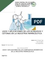 Aplicaciones y Usos de Aldehidos y Cetonas