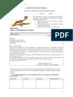 Guía 5-8º Basico Creacion de Textos Carta