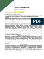 Resumen de Historia Constitucional Argentina Jose Lamas-1-1