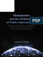 Haroon a. Khan (Auth.)- Globalization and the Challenges of Public Administration_ Governance, Human Resources Management, Leadership, Ethics, E-Governance and Sustainability in the 21st Century-Palgr
