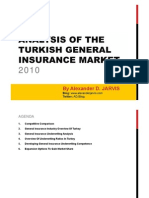 Analysis of the Turkish General Insurance Market
