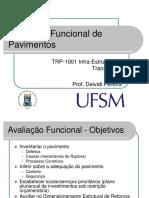 AULA DE AVALIAÇÃO FUNCIONAL DE PAVIMENTOS