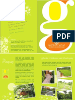 Gentil Florist Brochure