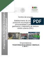 Proyecto tratamiento de residuos sólidos urbanos.doc