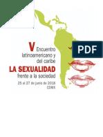 Convocatoria Encuentro SexualidadySociedad2018 2