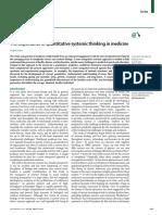 5. The importance of quantitative systemic thinking in medicine.pdf