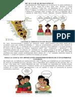 Multilinguismo en La Selva
