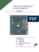 Curso Microprocesadores y Micro Control Adores Unidad 1